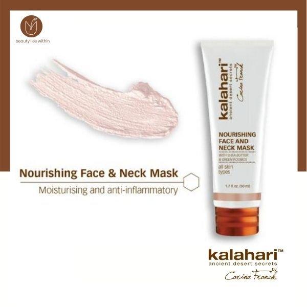 Kalahari Nourishing Face And Neck Mask 50mls