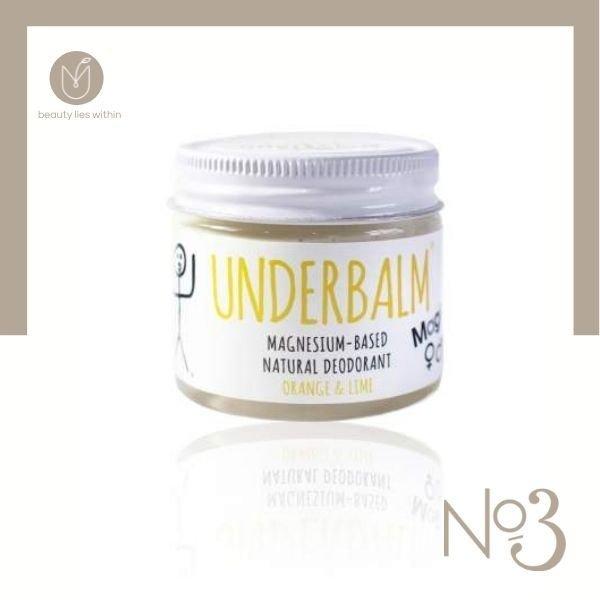 No3 Orange & Lime Underbalm Natural Deodorant Magic