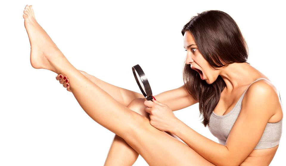 smooth silky legs after ipl treatment